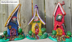 Marilyn Morrison Polymer Clay Houses