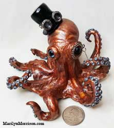 Marilyn Morrison Polymer Clay Octopus
