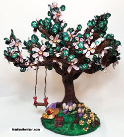 Marilyn Morrison Polymer Clay Tree